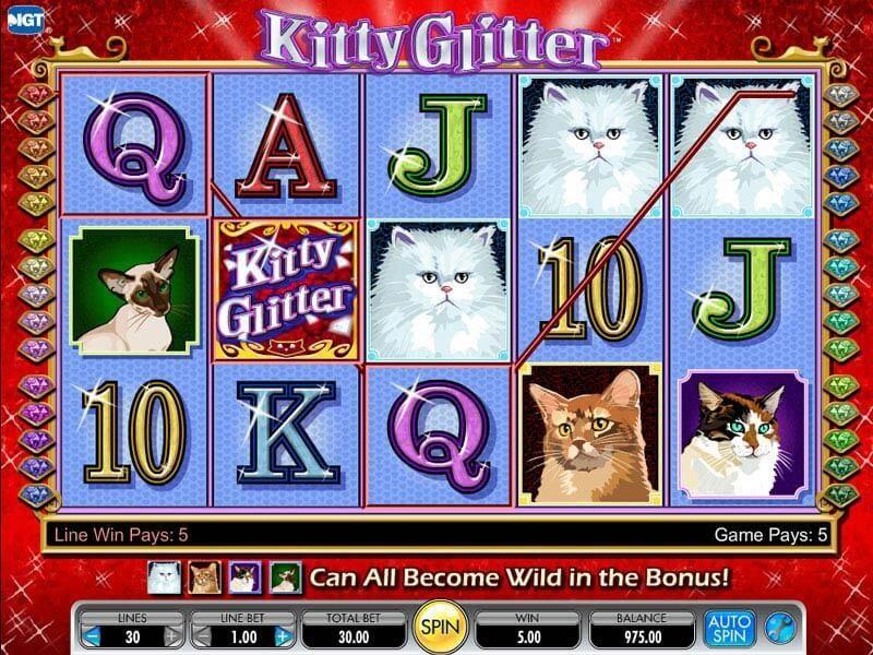 Kitty Glitter Slot
