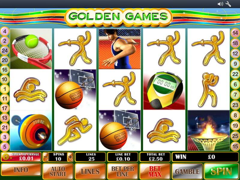 Golden Games Slot Online
