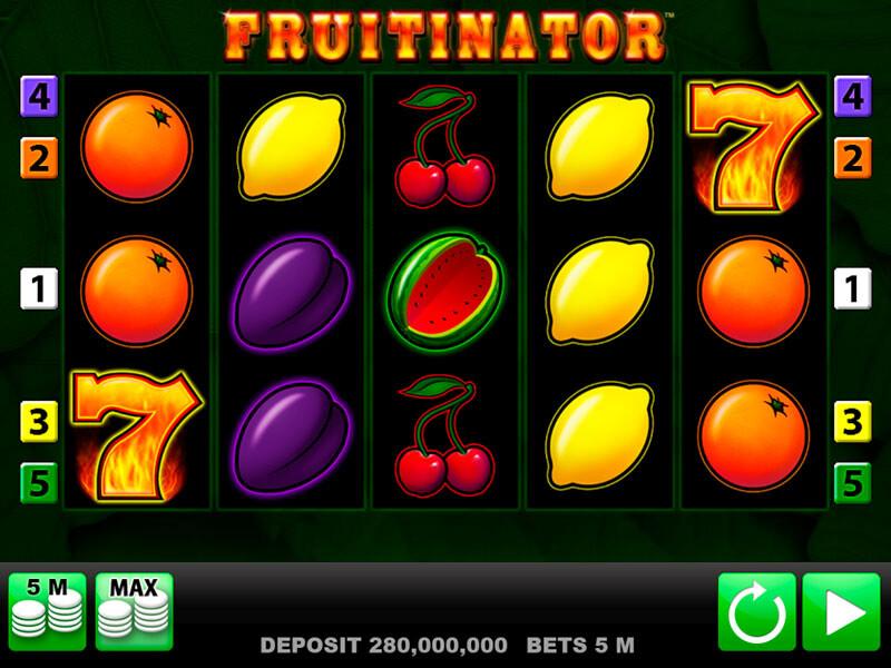 Fruitinator Slot Online