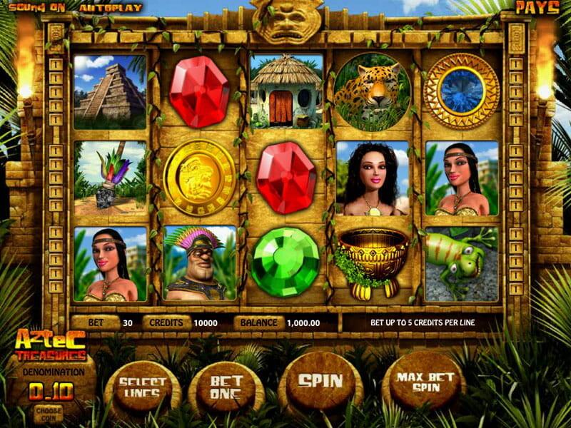 Aztec Treasures Slot Online
