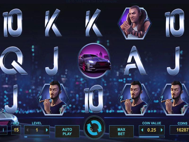 Drive Multiplier Mayhem Slot