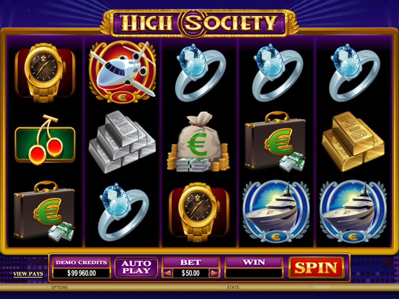 High Society Slot Online