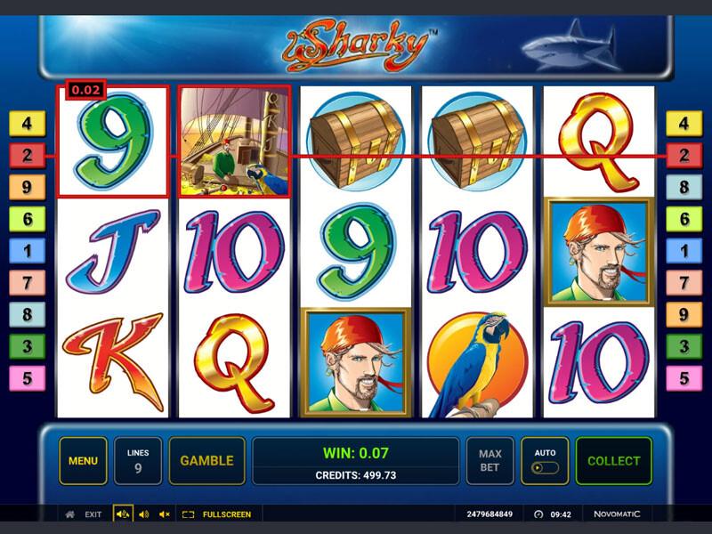 Sharky Slot Online