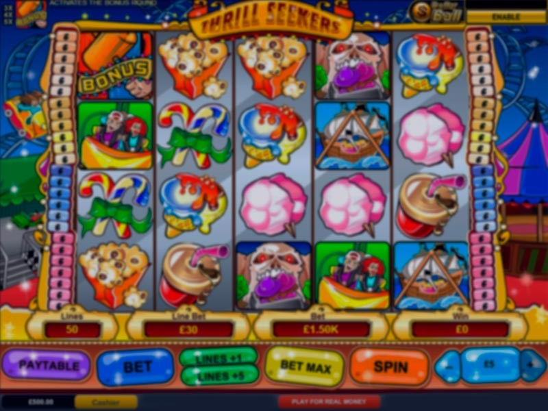 Thrill Seekers Slot