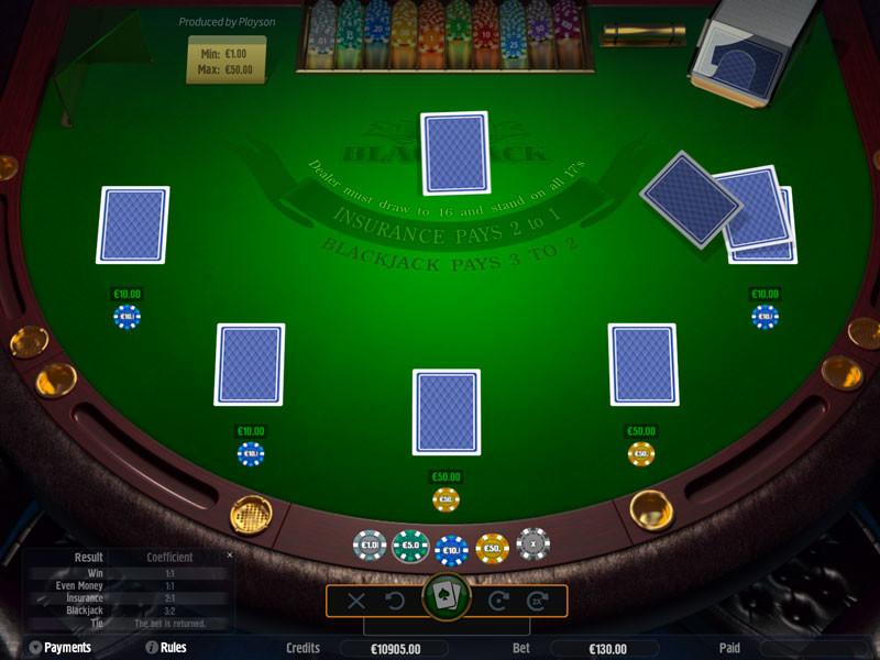 Blackjack  Slot