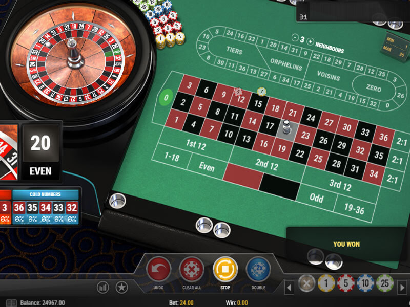 Roulette Game Slot