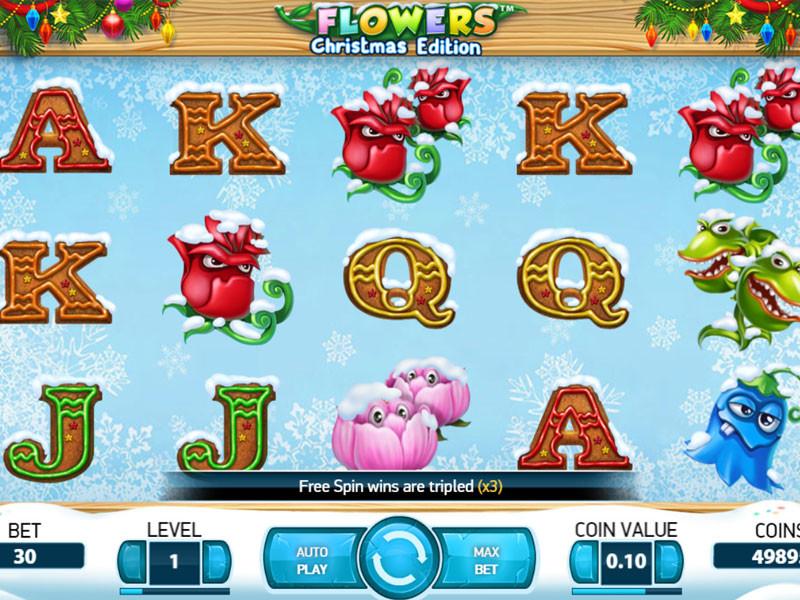 Flowers Christmas Edition Slot