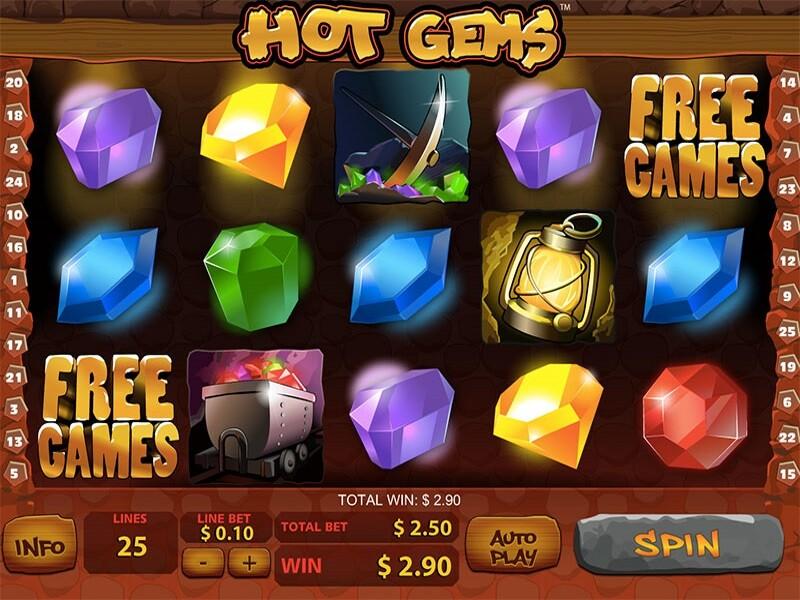 Hot Gems Slot Online