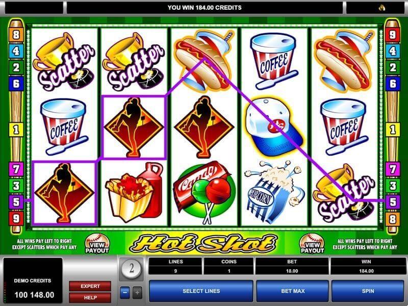 Hot Shot Casino Slot