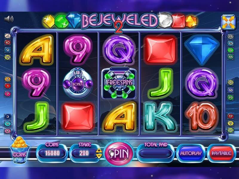 Bejeweled 2 Slot Online